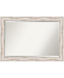 Amanti Art Alexandria 41x29 Bathroom Mirror