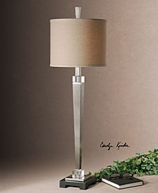 Terme Brushed Nickel Buffet Lamp