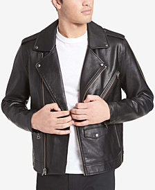 Levi's® Men's Faux-Leather Motorcycle Jacket