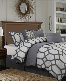 Nanshing Nadia 7 PC Comforter Set, California King