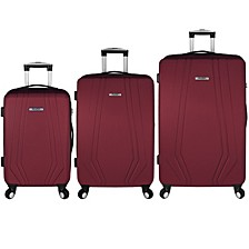 Paris 3PC Hardside Spinner Luggage Set