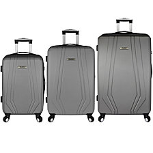 Elite Luggage Paris 3-Piece Hardside Spinner Luggage Set