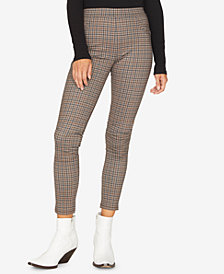 Sanctuary Grease Plaid Leggings, Created for Macy's