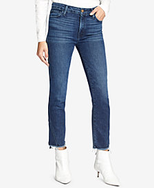 Sanctuary Modern Standard Cropped Straight Leg Jeans