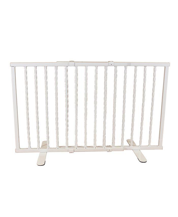 Cardinal Gates - Wrought Iron Step Over Pet Gate