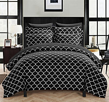 Chic Home Brooklyn 2 Pc Twin Duvet Cover Set