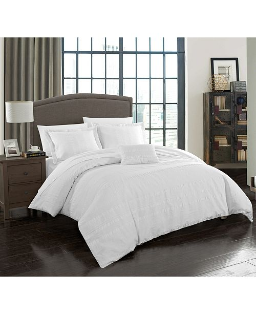 Chic Home Somerset 4 Pc Queen Duvet Cover Set
