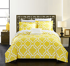 Chic Home Juniper 4-Pc. Duvet Cover Sets