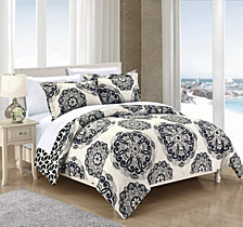 Chic Home Ibiza 3 Pc Full/Queen Duvet Cover Set