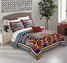 Chic Home Zaiden 4 Pc Queen Duvet Cover Set