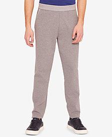 A|X Armani Exchange Men's Heathered Back Logo Pants