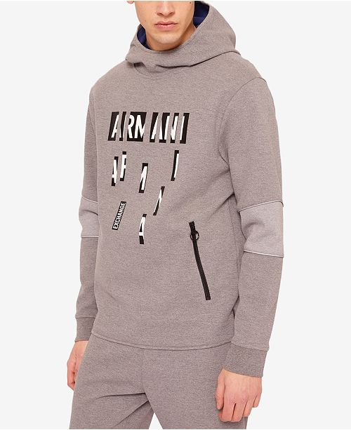 99c7fa10b51fa A|X Armani Exchange Men's Logo Hoodie & Reviews - Hoodies ...