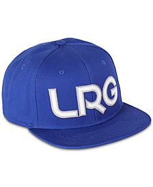 LRG Men's Lifted Snapback Cap