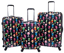 Jessica Simpson Bottoms Up Luggage Collection