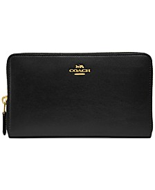 Continental Wallet in Refined Leather
