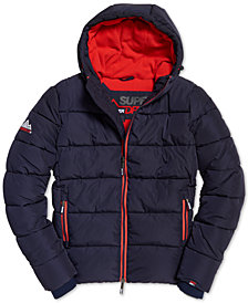 Superdry Men's Hooded Puffer Jacket