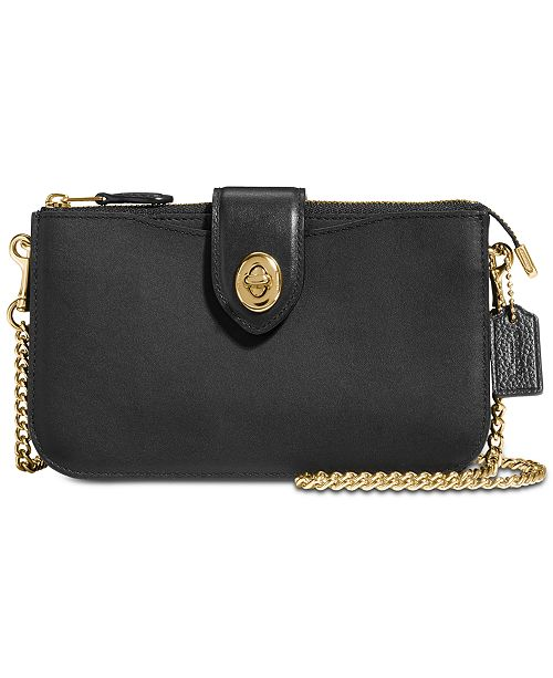 c8c805555e COACH Turnlock Crossbody in Refined Leather & Reviews ...