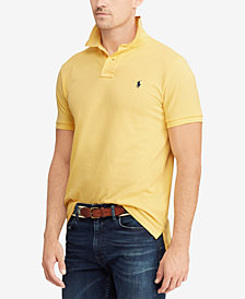 Polo Ralph Lauren Men's Custom Slim-Fit Cotton Mesh Polo Shirt