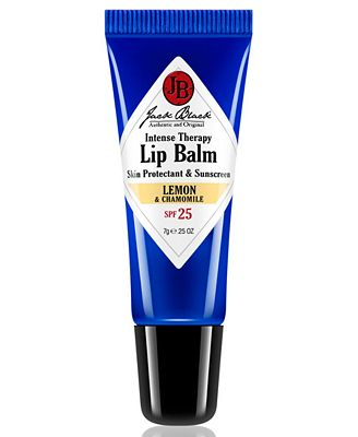 Jack Black Intense Therapy Lip Balm SPF 25 with Lemon & Chamomile, 0.25 oz