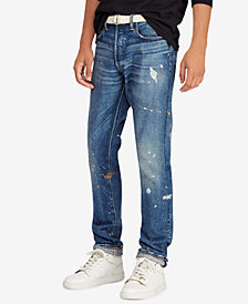 Polo Ralph Lauren Men's Great Outdoors Sullivan Slim Distressed Jeans