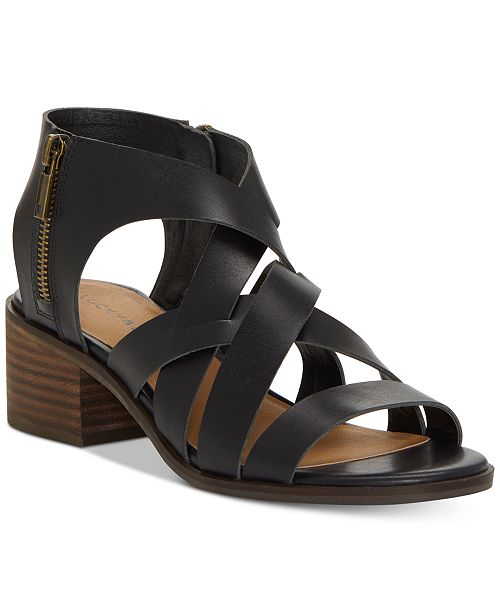 a0c518f300fe Lucky Brand Nayeli Strappy Sandals   Reviews - Sandals   Flip Flops ...