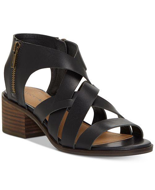 2b904d724 Lucky Brand Nayeli Strappy Sandals   Reviews - Sandals   Flip Flops ...