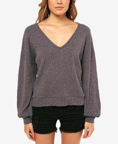 O'Neill Juniors' Calie V-Neck Sweater