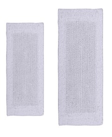 Bella Napoli 2 Pc Cotton Bath Rug Set