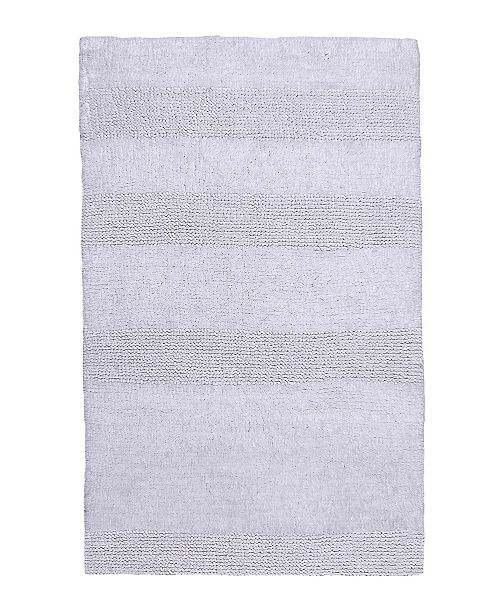 Castle Hill London Wide Cut 17x24 Cotton Bath Rug