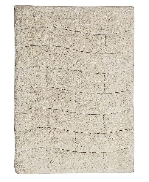 Castle Hill London New Tile 20x30 Cotton Bath Rug
