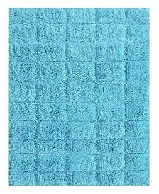 Summer Tile 17x24 Cotton Bath Rug