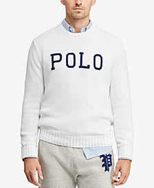 Polo Ralph Lauren Men's Logo Graphic Sweater, Created for Macy's