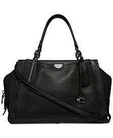Dreamer 36 Satchel in Polished Pebble Leather