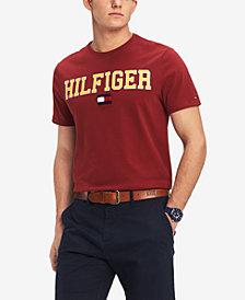 Tommy Hilfiger Men's Collegiate Logo Graphic T-Shirt