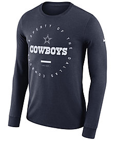 Nike Men's Dallas Cowboys Property Of Long Sleeve T-Shirt