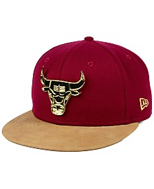 New Era Chicago Bulls Fall O'Gold 59FIFTY Fitted Cap