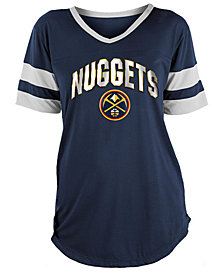 5th & Ocean Women's Denver Nuggets Mesh T-Shirt