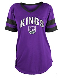 5th & Ocean Women's Sacramento Kings Mesh T-Shirt