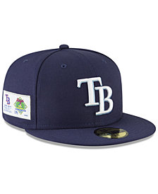New Era Tampa Bay Rays Jersey Custom 59FIFTY Fitted Cap