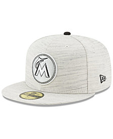 New Era Miami Marlins Team Out Heather 59FIFTY Fitted Cap