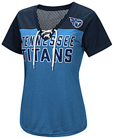 G-III Sports Women's Tennessee Titans Shake Down Jersey T-Shirt