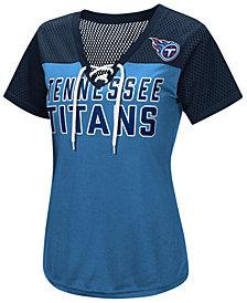 G-III Sports Women's Tennessee Titans Shake Down Jersey T-Shirt