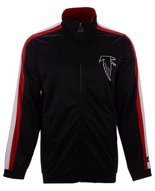8ea42baa Starter Men's Atlanta Falcons The Challenger Track Jacket & Reviews ...