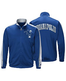 Starter Men's Indianapolis Colts The Challenger Track Jacket