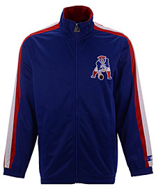 Starter Men's New England Patriots The Challenger Track Jacket