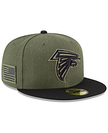 New Era Atlanta Falcons Salute To Service 59FIFTY FITTED Cap