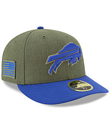 New Era Buffalo Bills Salute To Service Low Profile 59FIFTY Fitted Cap 2018