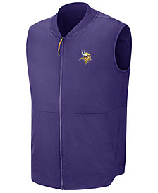 Nike Men's Minnesota Vikings Sideline Coaches Vest