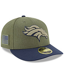 New Era Denver Broncos Salute To Service Low Profile 59FIFTY Fitted Cap 2018