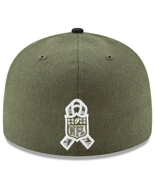 competitive price 43306 11904 New Era New York Jets Salute To Service Low Profile 59FIFTY Fitted Cap 2018  ...